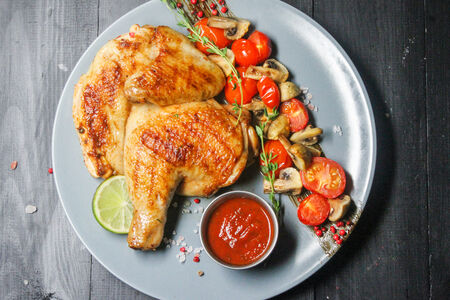 Пряный цыпленок