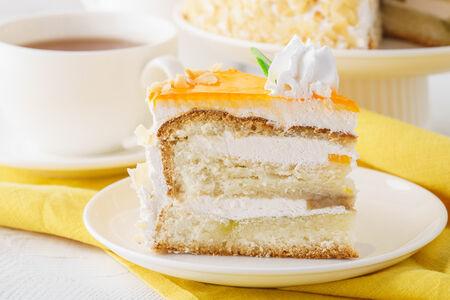 Торт Тропик без мастики