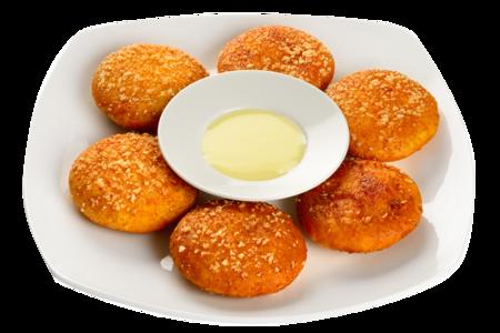 Китайские тыквенные пончики