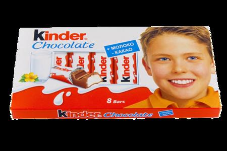 Шоколадные батончики Kinder, Ferrero