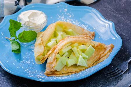 Десерт Яблочки в платочке