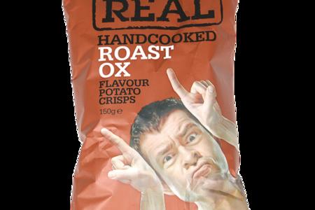 Чипсы картофельные Real с говядиной Real Crisps Limited