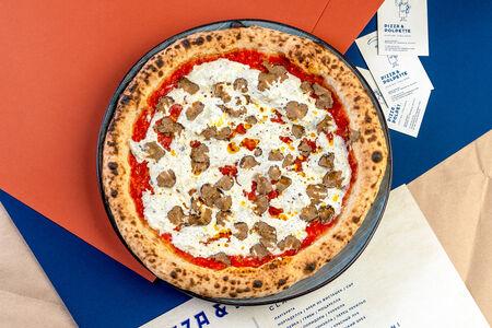 Пицца с трюфелем и страчателлой