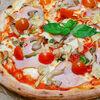 Фото к позиции меню Пицца Окорок с артишоками и черри