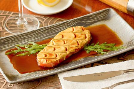 Семга с дижонской горчицей