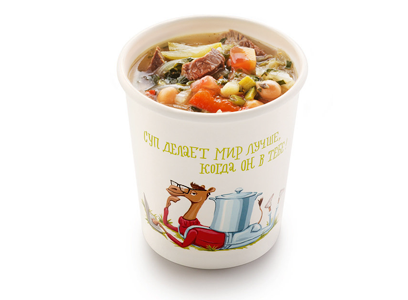 Турецкий суп с нутом