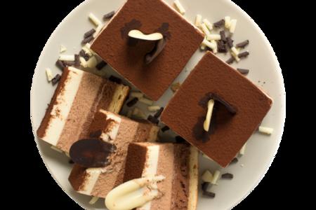 Пирожное Три шоколада от шеф-кондитера Ав