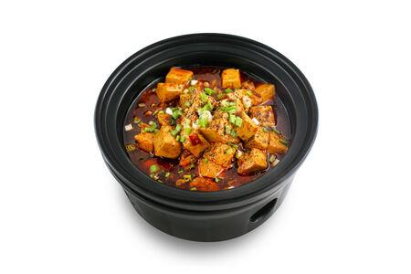 Тофу Чень Мапо в остром соусе