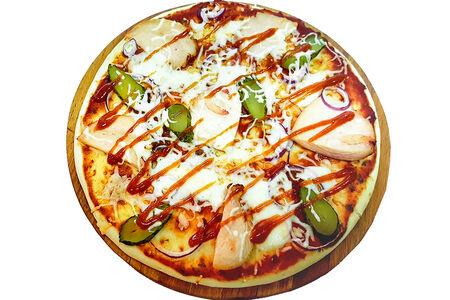 Пицца с копчёностями