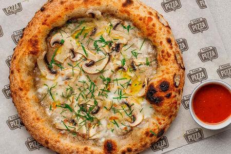 Пицца Неаполитанская с шампиньонами