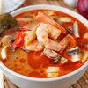 Фото к позиции меню Суп Том Ям и рис на пару
