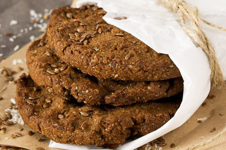 Печенье домашнее имбирно-шоколадное