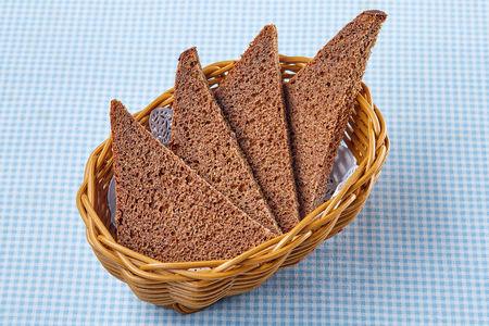 Хлебная корзина черная