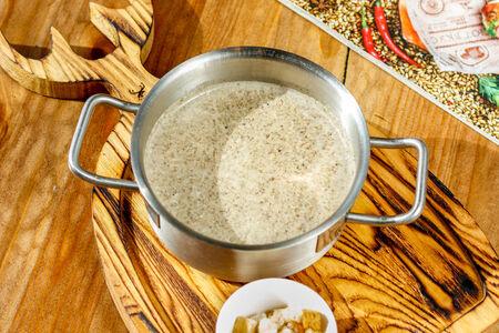 Крем-суп из подосиновиков