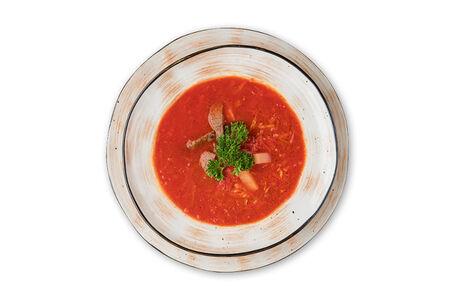 Суп Харчо с грецким орехом