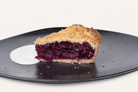Вишневый домашний пирог