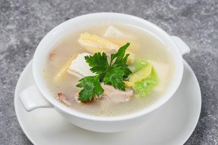 Суп Нежный с уткой