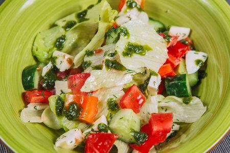 Салат Овощной с моцареллой