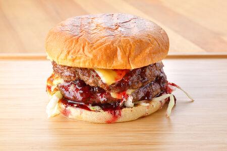 Бургер Бурбон с говядиной