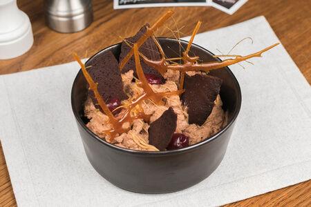 Шоколадный мусс с бурбоном