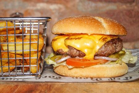 Двойной бургер из говядины