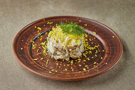 Салат с индейкой по-тбилиски