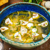 Фото к позиции меню Домашний суп-лапша с курицей и грибами