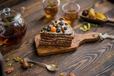 Торт Домашний от шефа порция