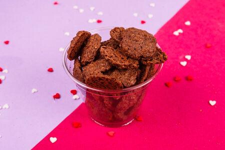 Печенье овсяное с какао