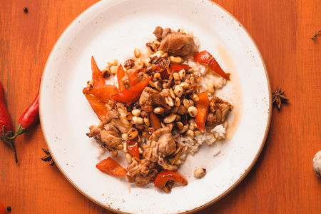 Курица Гуан-бао