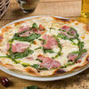Фото к позиции меню Пицца с копченым окороком и шпинатом