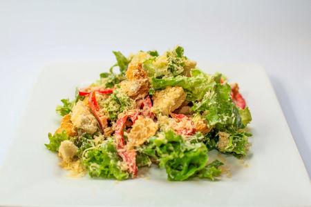 Салат теплый из индейки