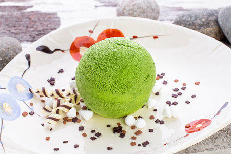 Мусс Зеленый чай
