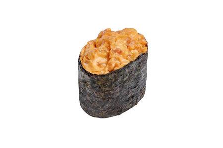 Спайси суши с курицей терияки