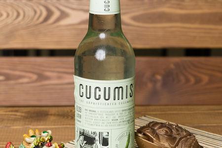 Лимонад Cucumis огуречный с ноткой базилика