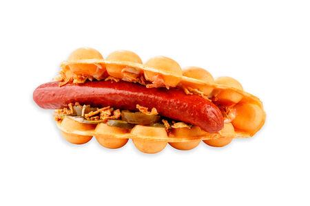 Вафля сытная Баварский сэндвич