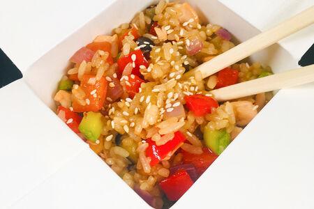 Вок Тяхан с овощами