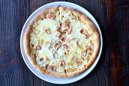 Пицца Карбонара гол