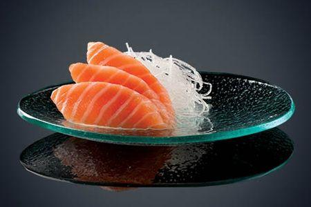 Сашими сякэ (лосось)