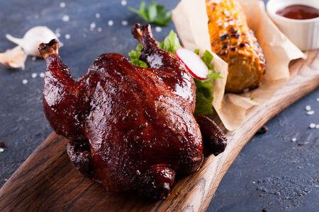 Цыпленок в пряной обсыпке