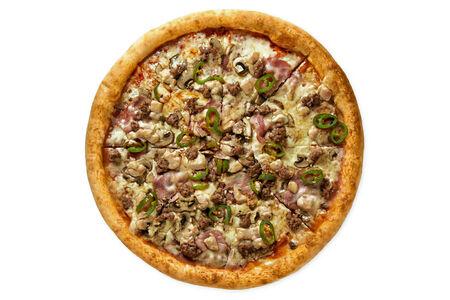 Пицца Особая с халапеньо