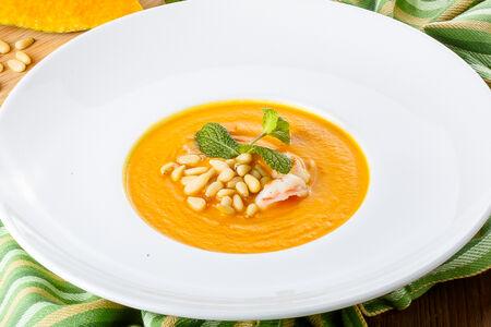 Нежный крем-суп из тыквы