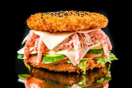 Суши-бургер Камчатский