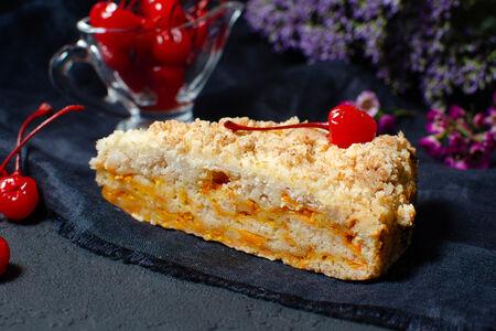Торт Морковно-апельсиновый