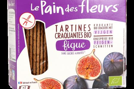 Хлебцы без глютена с инжиром, Pain des fleurs