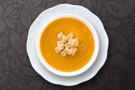 Овощной крем-суп с сыром