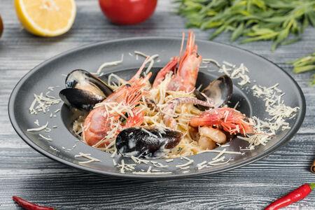 Паста Орекьетте с морепродуктами