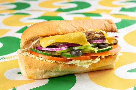 Сэндвич Биф Клаб Мелт маленький