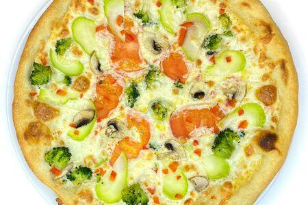 Пицца с Брокколи и Кабачком