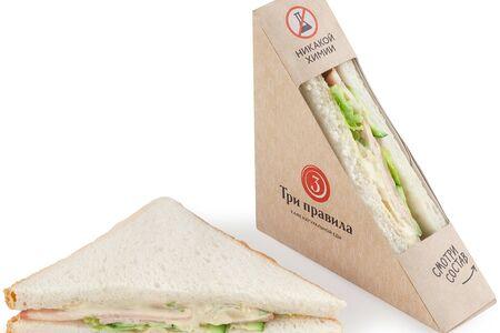 Сэндвич с куриной ветчиной